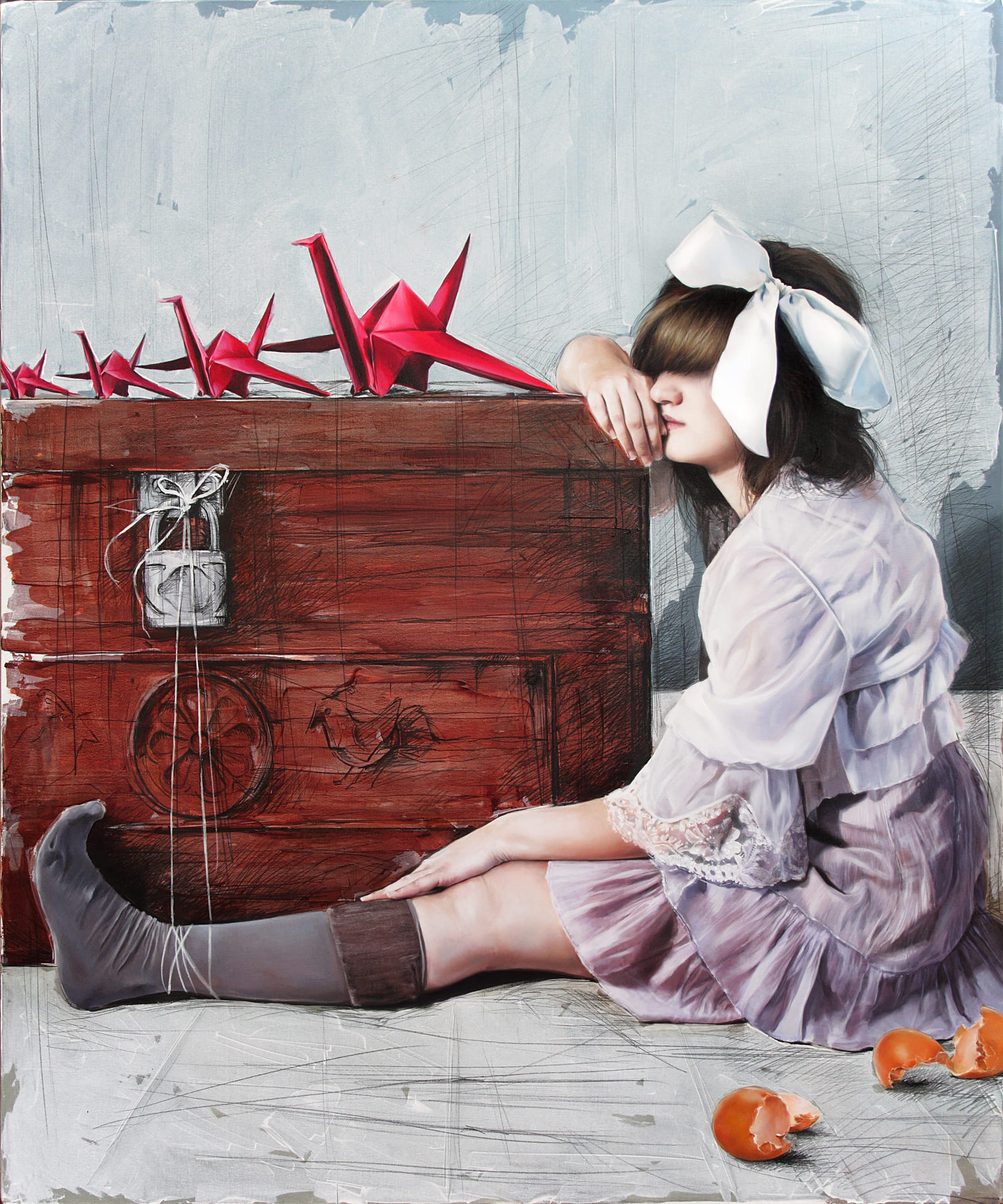 art contemporary, ombra